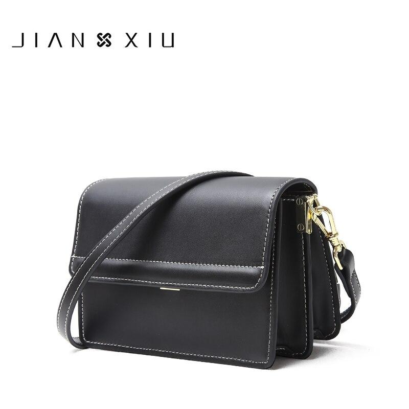 JIANXIU Bolsas De Luxo Mulheres Sacos De Designer De Bolsa de Ombro Couro Rachado Saco Linhas De Costura Pequena Bolsa Tote 2019 Nova Bolsa de Mão