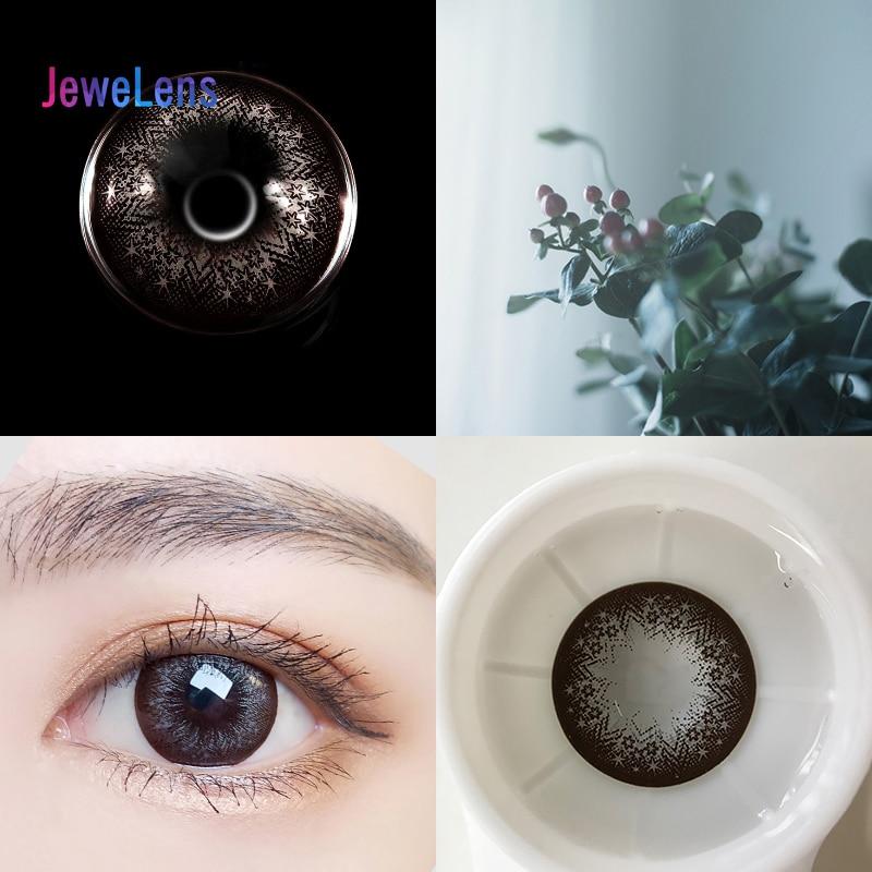 Lentes de contacto de colores Jewelens, lentes de Color para ojos, Cosméticos de colores Con serie de muñecos Soft Starshine