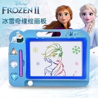 original disney frozen 2 color graffiti painting board toy childrens magnetic writing board gift