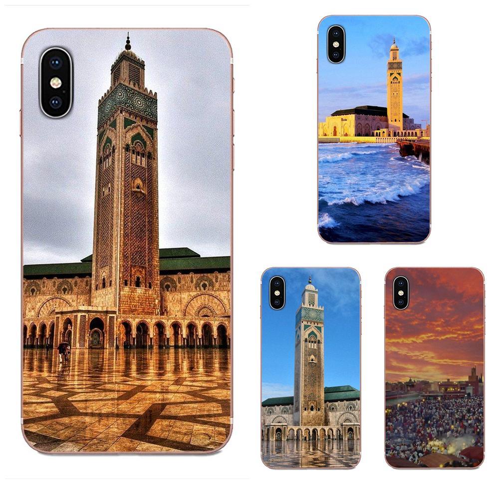 Marruecos marroquí para Apple iPhone 4 4S 5 5C 5S SE 6 6S 7 8 11 Plus Pro X XS Max XR silicona suave TPU transparente teléfono personalizado