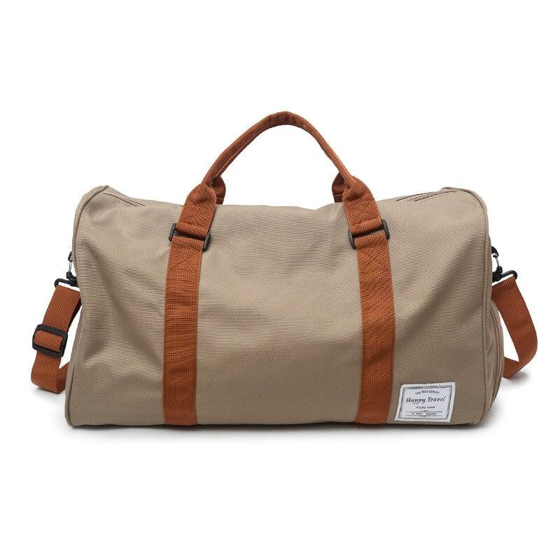 Багажные сумки унисекс, мужские дорожные спортивные водонепроницаемые сумки из ткани Оксфорд, сумка на плечо для женщин и мужчин, вместител...