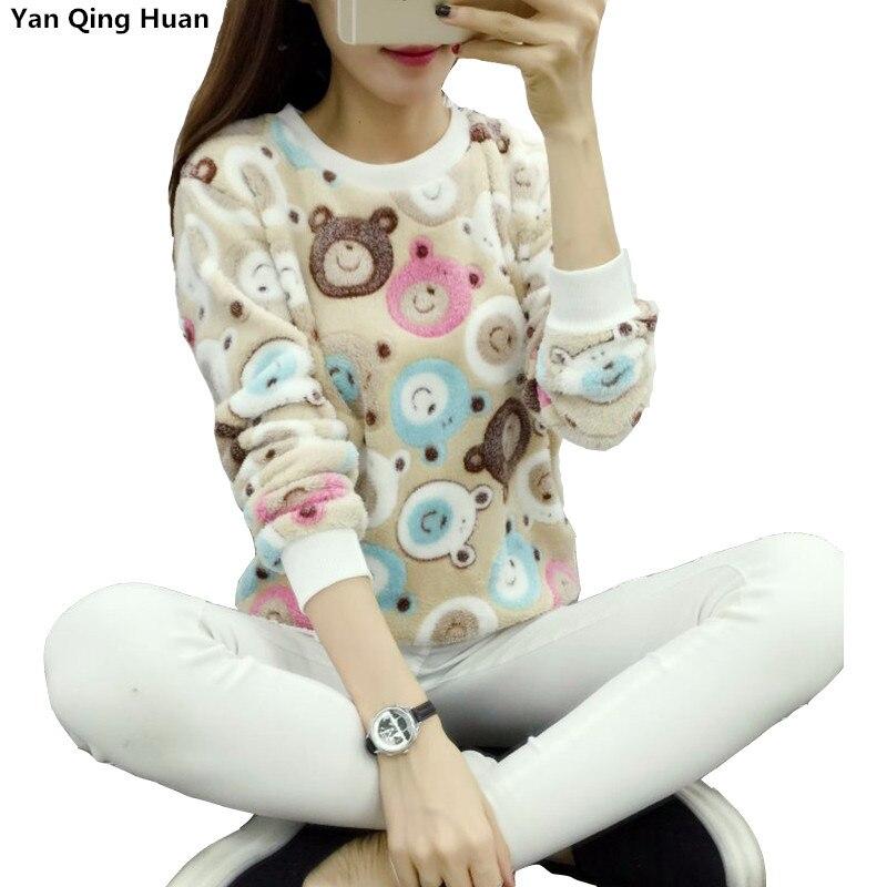 Женский фланелевый свитер с капюшоном, высокое качество, новинка 2020