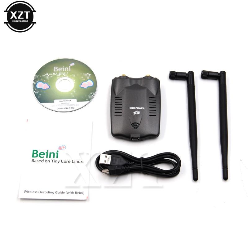 BT-N9100 Beini USB Wifi adaptador de tarjeta de red inalámbrica de Ralink 3070 alta potencia 3000mW antena Dual Internet gratis para ganar