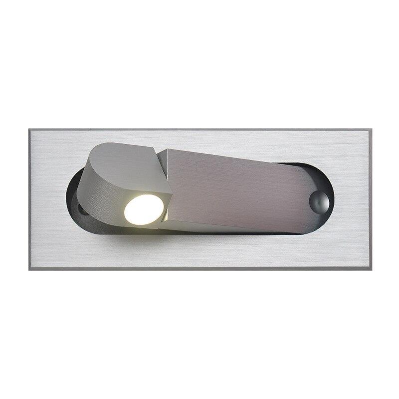 Luces empotradas para dormitorio de 3W Luz de Lectura Led cabecero montado en la pared para uso de proyectos de Hotel en casa