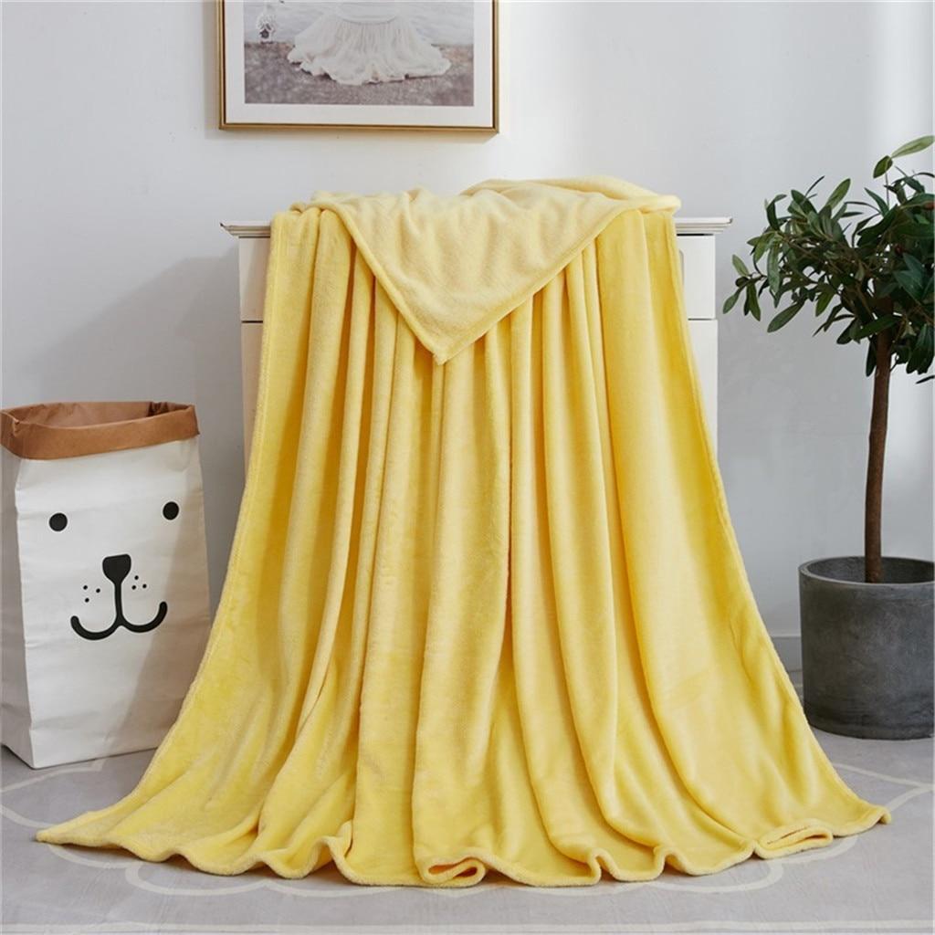 جديد مريح بطانية لينة المنزل الشتاء الشمال بطانية ل أريكة الزفاف الساخن الفانيلا بطانية السرير لحاف ل ديكور للكنبة 120X200cm دافئ #