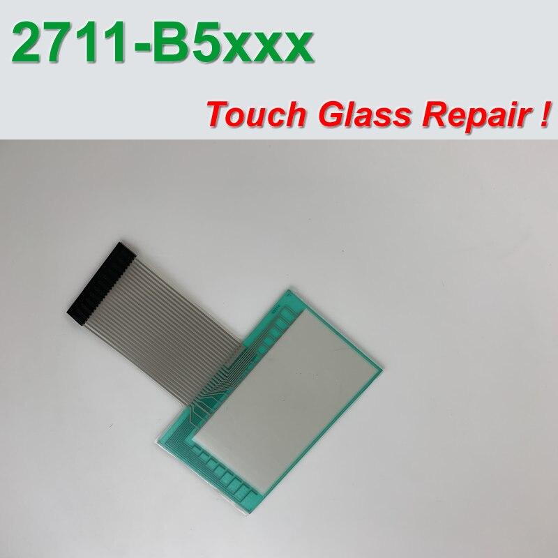 ألين برادلي 2711-B5 PanelView 550 اللمس الزجاج 2711-K5A1 محول الأرقام ل وحة إصلاح ، في الأسهم