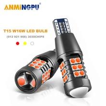 ANMINGPU 2x Signal Lampe Led T15 Canbus 921 912 Birne 3030SMD W16W Led-lampe Super Helle Backup Licht Reserve Lichter schwanz Lampe 12V