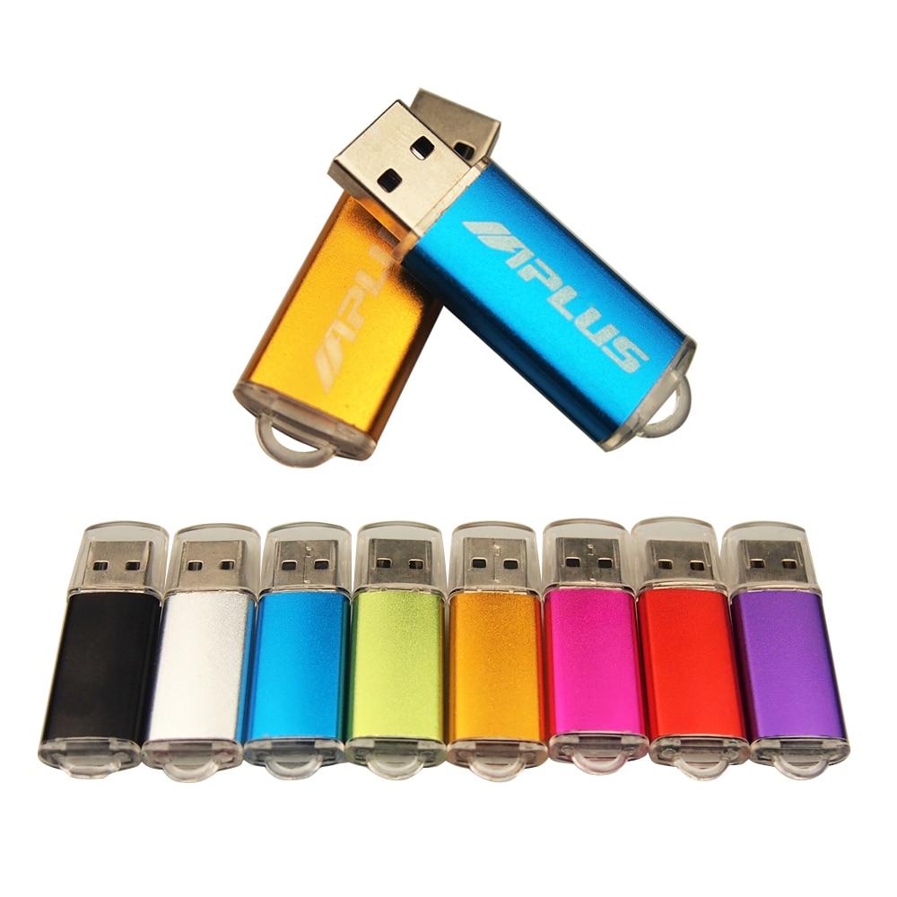 Portátil unidad Flash Usb de Metal Pendrive 32GB 64GB 16GB 8GB 4GB Usb Flash 2,0 Mini disco USB Stick de memoria de logotipo del cliente mejores regalos