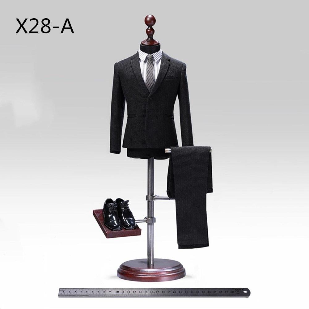 1/6 весы джентльменский костюм набор POPTOYS X28 X27 Advanced readymade мужской костюм в западном стиле Регулировка 12