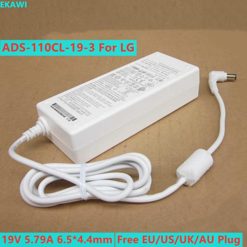 Genuine 19V 5.79A 19.5V Adaptador AC Para LG 34UM95C ADS-110CL-19-3 5.65A PF1500G PROJETOR 34UC98 BFP100-27 EAY63032202 Carregador