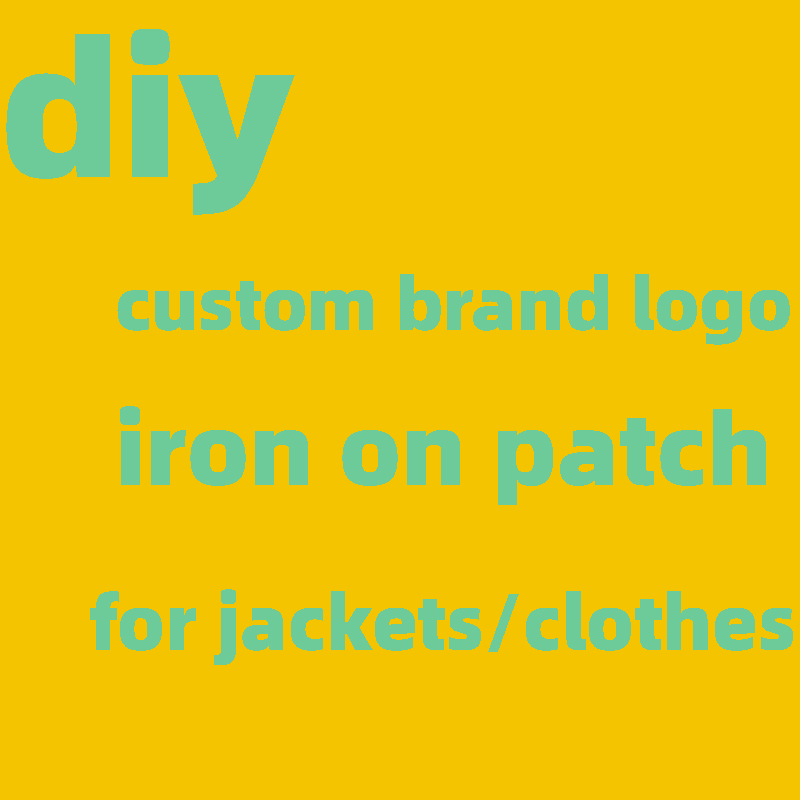 Термоклейкие нашивки с логотипом на заказ, термоклейкие наклейки на одежду, термоклейкие нашивки «сделай сам», термоаппликация
