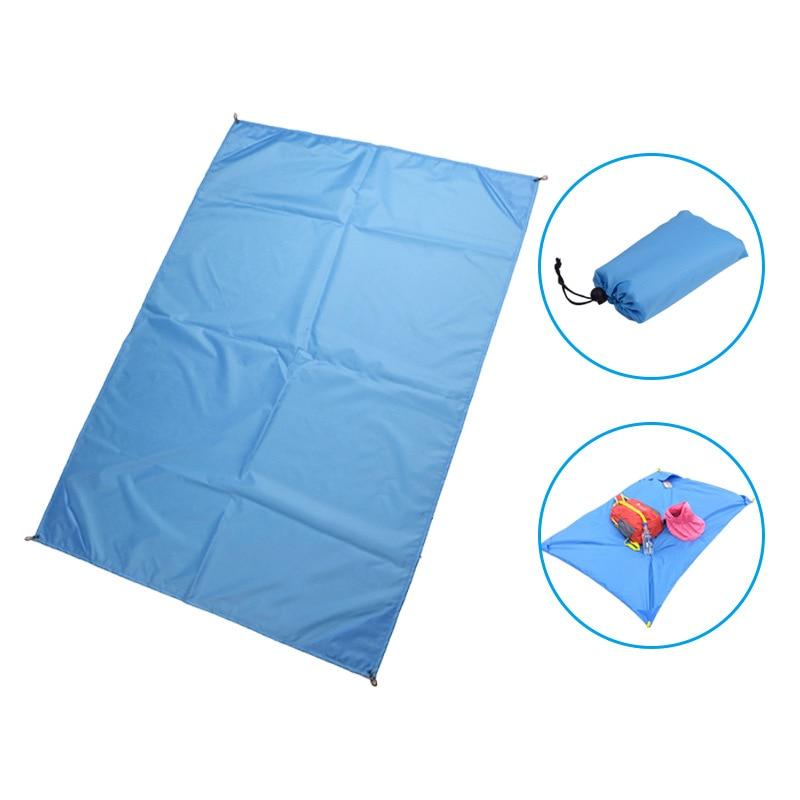 Водонепроницаемый Пляжный коврик плед для пикника кемпинга на открытом воздухе