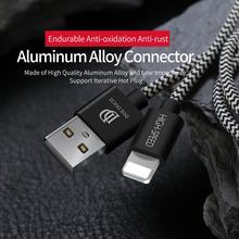DUXDUCIS odpowiedni kabel do transmisji danych Apple kabel do ładowania iphone'a 1 metrowy kabel do szybkiego ładowania z oplotem nylonowym