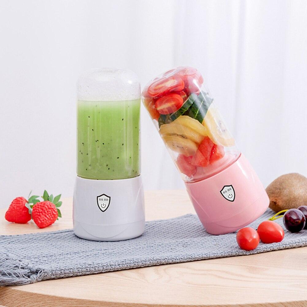 300mL Mini Portable Electric Juicer Mixer Orange Fruit Smoothie Blender USB Food Processor Juice Extractor Machine Squeezer Cup