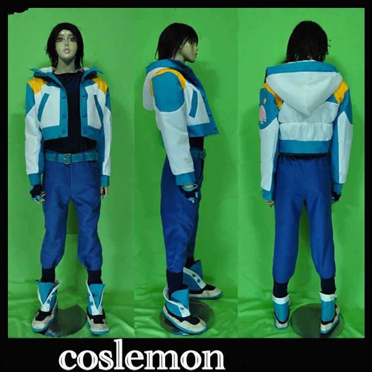Anime DRAMAtical Murder/DMMD Seragaki Aoba Cosplay Costumes Full Set Uniform Suit Unisex Role Play Prop Clothing Custom-Make Any