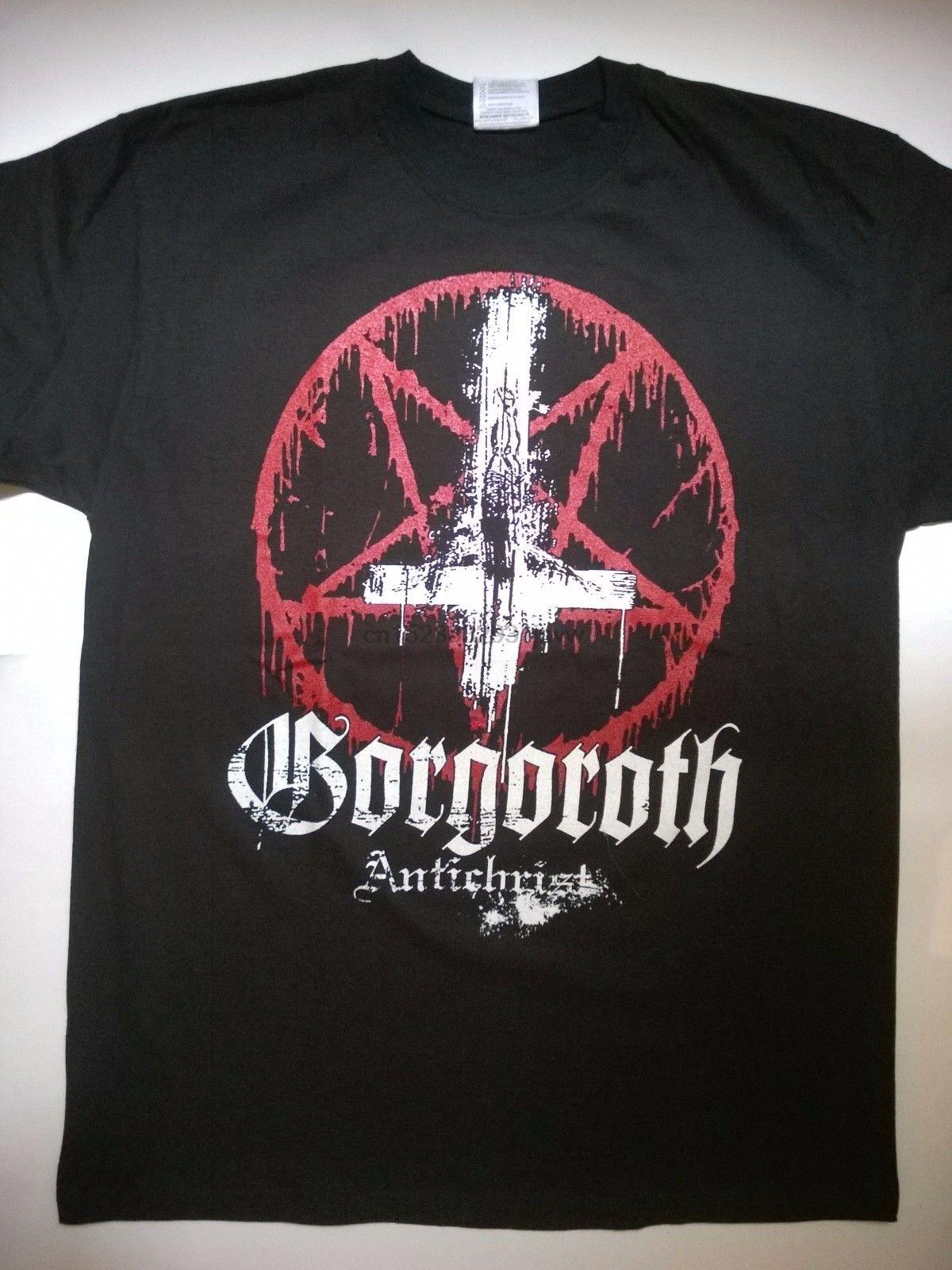 Gorgoroth-Camiseta Grande inmortal 1349 Marduk Tsjuder Taake, camiseta de manga de bosque...