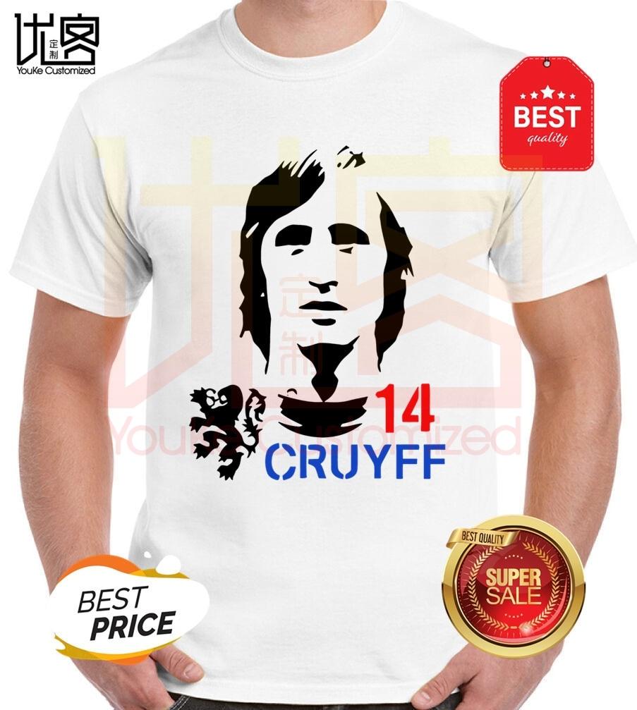 Camiseta divertida para hombre Hendrik Johnes Cruyff Holland Nederland el padrino 100% Camiseta de algodón