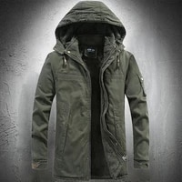 army green army coat outdoor coat tactical cotton coat winter coat mens fashion coat clothing high quality thickening