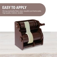 2pcs washi paper cutter washi paper dispensers for home office school brown