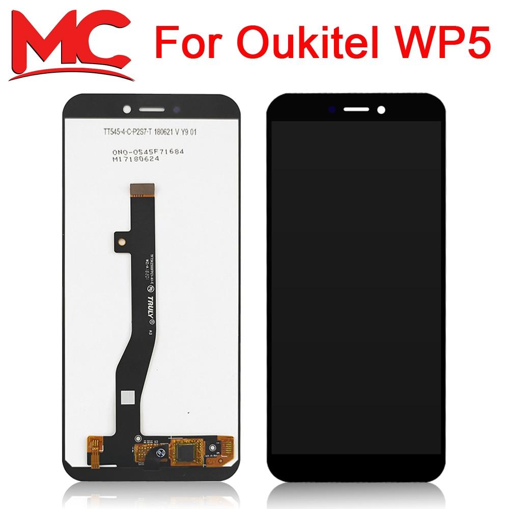 Para OUKITEL WP5 pantalla LCD + MONTAJE DE digitalizador con pantalla táctil 100% Nuevo LCD Original + digitalizador táctil para OUKITEL WP5 + herramientas