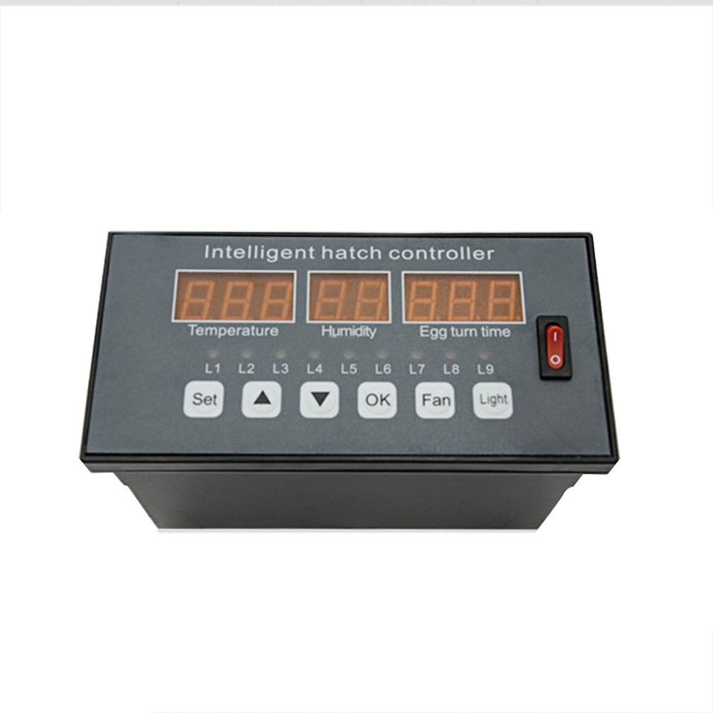 Controlador automático de incubadora de huevos Xm-16, termostato de temperatura, humedad, Sensor de incubadora, sonda, sistema de Control de incubadora