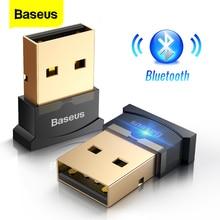 Baseus USB Bluetooth émetteur Audio récepteur 4.0 adaptateur sans fil pour ordinateur ordinateur souris Audio Bluetooth récepteur Adaptador