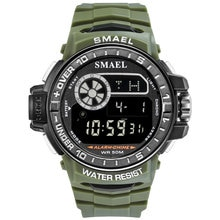 SMAEL Watch Men Led Digital Watches Big Dial Men Sports Watches Men Multifunction Electronic Watches