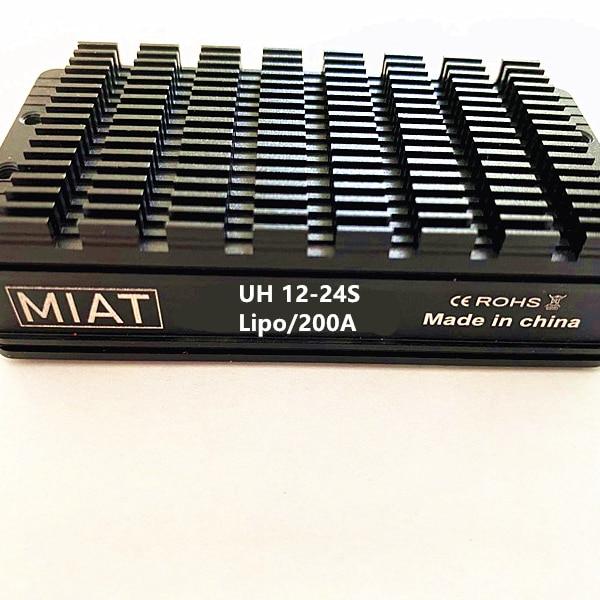 MIAT 200A ESC سيارة كهربائية تحكم الطائرات بدون طيار BLDC المحرك ESC