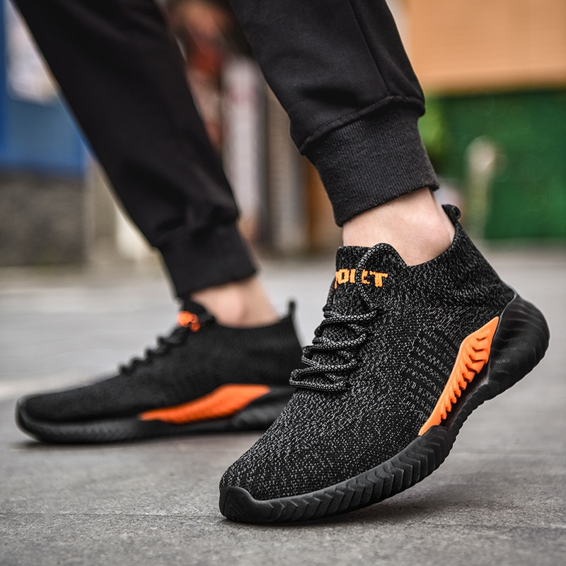 Fashion Lovers with The Same Paragraph Sports Shoes Breathable Men Sneakers Ladies Jogging Shoes Outdoor All-match Trendy Shoes