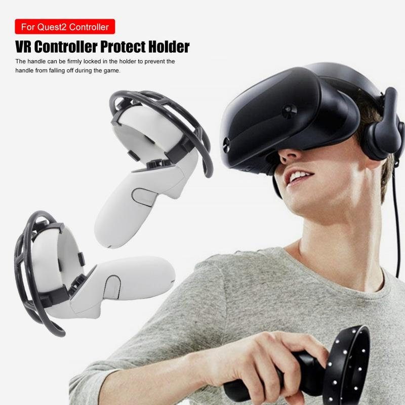 VR Controller Holder Convenient Fixer for Quest 2 Controller Lightweight VR Headset Convenient Fixer enlarge