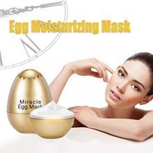 Yeast Egg Shell Mask Miracle Egg Mask Anti Aging Facial Sleeping Mask Remove Wrinkle Moisturizing Cream Face Skin Care Treatment