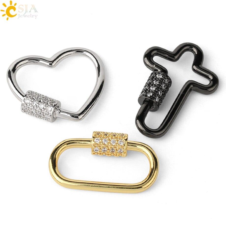 CSJA hebilla de los bolsos para el bolso bandolera accesorios de diamantes de imitación cuadrado color dorado/plateado llavero separado accesorios DIY S632