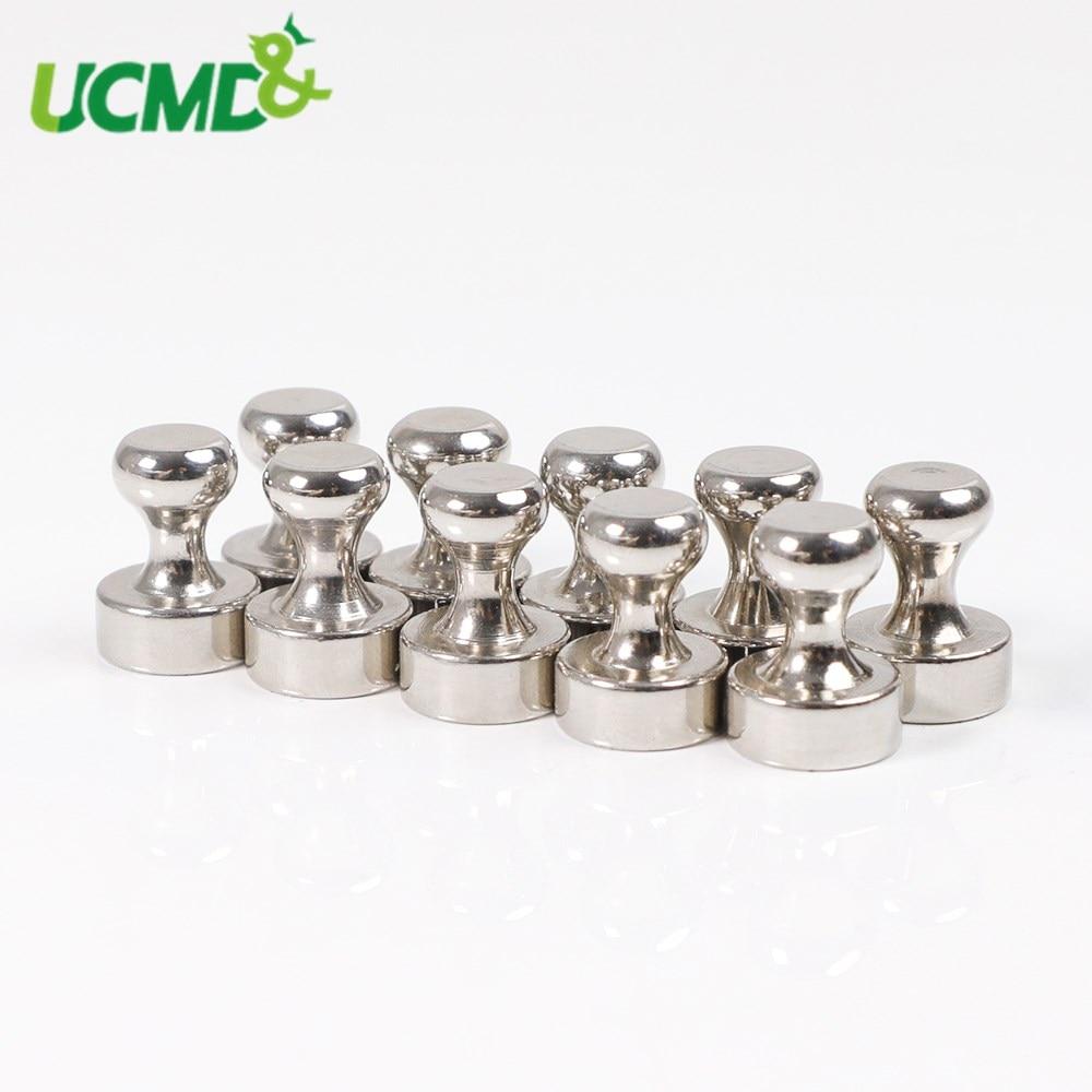 10 шт. в форме шахмат сильный штифт для офиса thumbtack сильные неодимовые магниты на холодильник магнитные штифты для доски