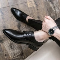 office business shoes non slip formal mens designer new 2021 men casual high quality comfortable party leather flat trend