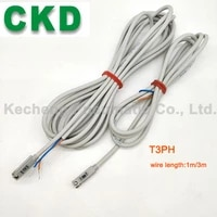 1pcs ckd pneumatic cylinder switch t3h proximity sensor 1m3m