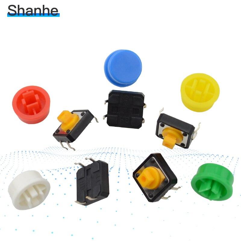 Interruptor tátil quadrado 12*12*7.3mm do tato do botão dos interruptores 12x12x7.3mm micro interruptor