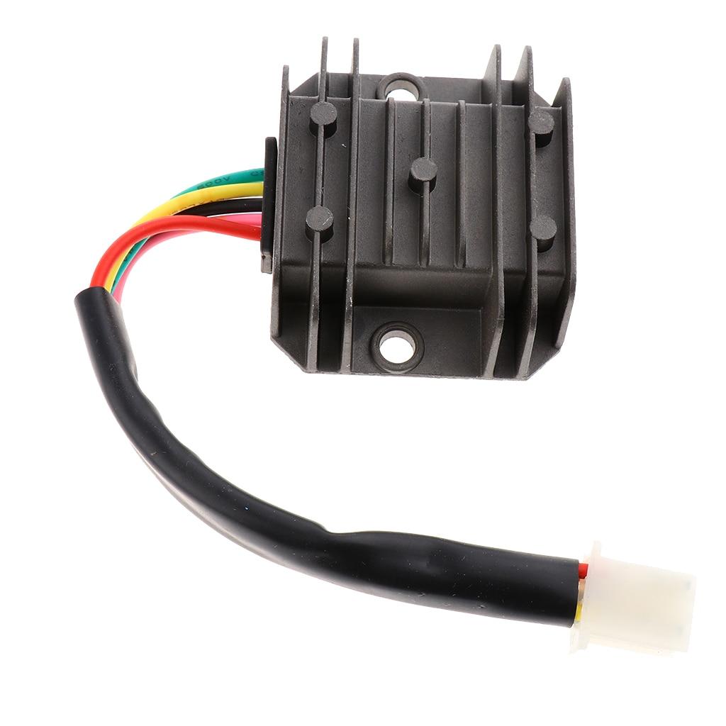 Regulador de voltaje de 12 V, rectificador Universal para bicicleta de Cross ATV de 125cc y 150 cc, reemplazo rectificador de alto rendimiento para FXD 125