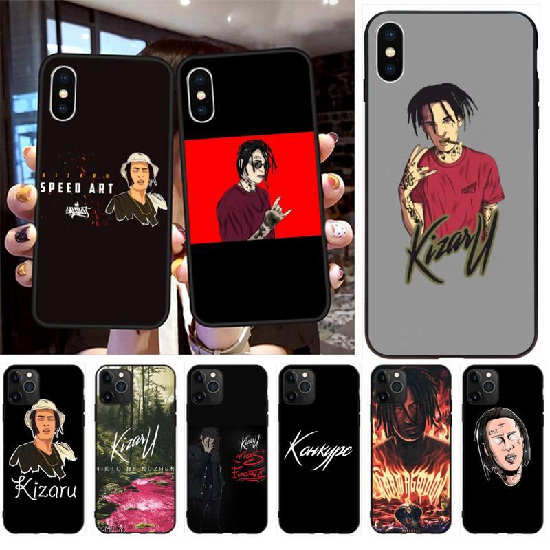 Kizaru rapero Rusia funda para teléfono para iPhone 11 pro XS MAX 8 7 6 6S Plus X 5S SE 2020 XR caso