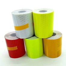 1 Roll 5*300cm Reflection Sticker Car Reflective Tape Decoration Safety Warning Reflection Tape Film Auto Motorcycle Stickers