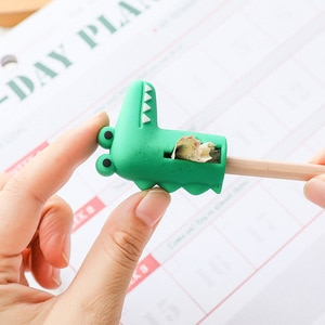 Cartoon Cat Pencil Sharpener Small Pencil Cutter Students Animal Shape Portable Pen Knife Office Stationery School Supplies