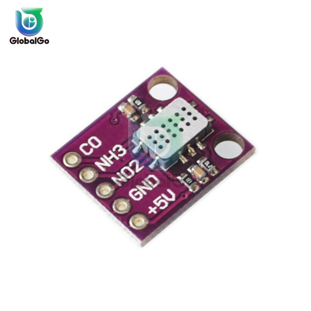 MICS-6814 Air Quality CO NO2 NH3 Nitrogen Carbon Gas Sensor Module For Arduino Air Guality Testing Equipment Gas Analyzer