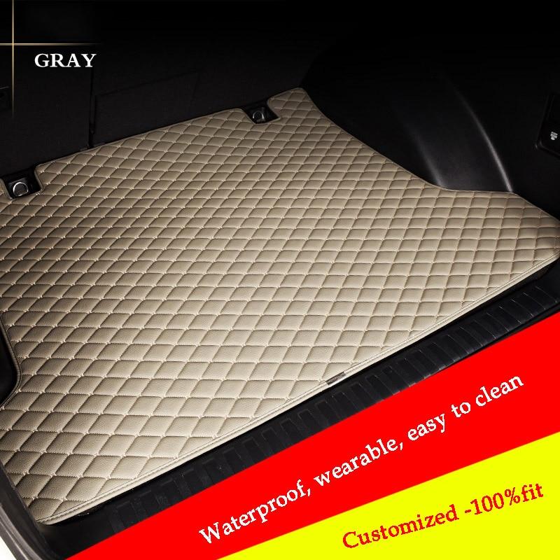 custom car trunk mat For mercedes benz W169 A180 W176 A180 A200 CLK200 GL450 S320 etc.All series car accessories