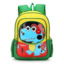 Nylon cartoon dino printing children school bags kids travel backpack mochila infantil escolar bolso for kindergarten girls boys