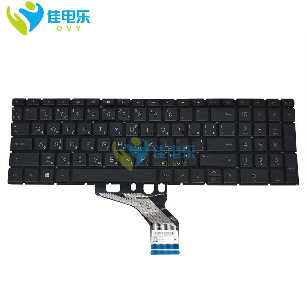 جديد روسيا لوحة مفاتيح إتش بي 15-DB 15-DR 250 255 G7 15-DA 15M-CN 15-CX 4HY44PA UA RU الكمبيوتر المحمول لوحة المفاتيح مع الخلفية HPM17K3 HPM17K5