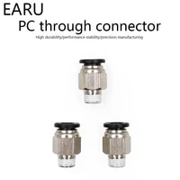18 14 38 12 male 4 6 8 10 12mm straight push in fitting pneumatic push to connect air adapter plug socket connector
