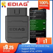 Ediag P01 ELM327 bluetooth V1.5 PIC1825K80 P02 WIFI OBD2 разъем для Android/IOS считыватель кодов крутящего момента сканер