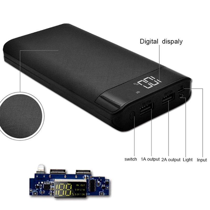 42. Power Bank Batería Portátil para Móvil Universal de 5V