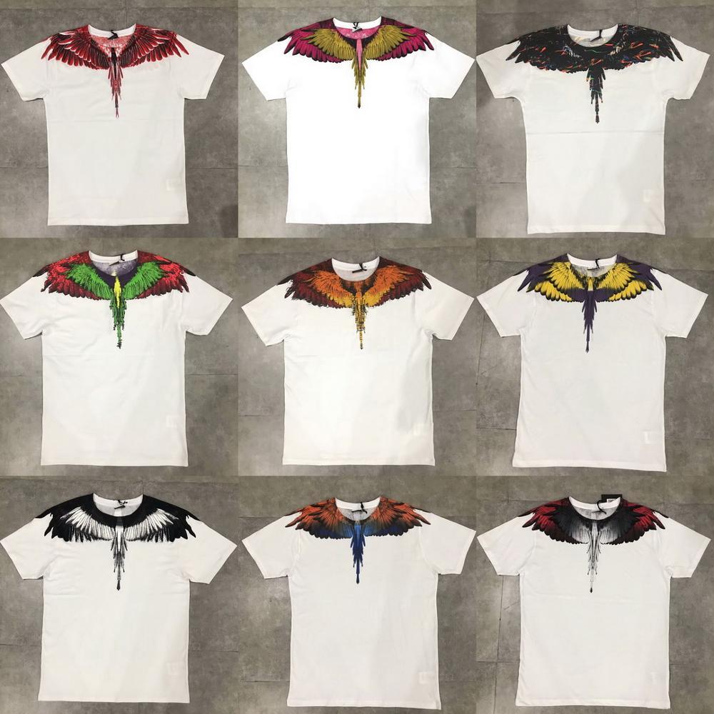 2019SS VIVAMB MB BURLON WING Camiseta 100% algodón NON-ELASTIC sobre el tamaño XXS-L