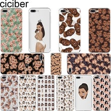 Ciciber Funny Kimoji Kim Kardashian Kanye чехол для Iphone 6 6S 7 8 Plus 5S SE 2020 11 Pro Max X XR XS MAX мягкий TPU чехол для телефона
