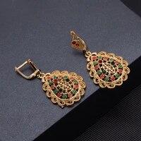 24k beads earrings gold color earrings forr women girls chuuk dubai micronesia earrings hawaiian guam
